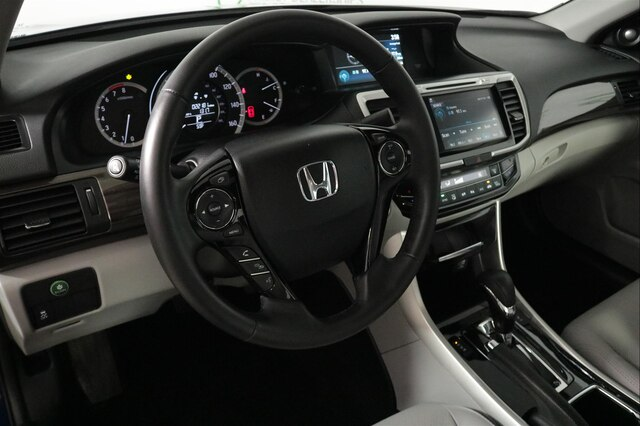 Certified Pre-Owned 2017 Honda Accord EX-L V6